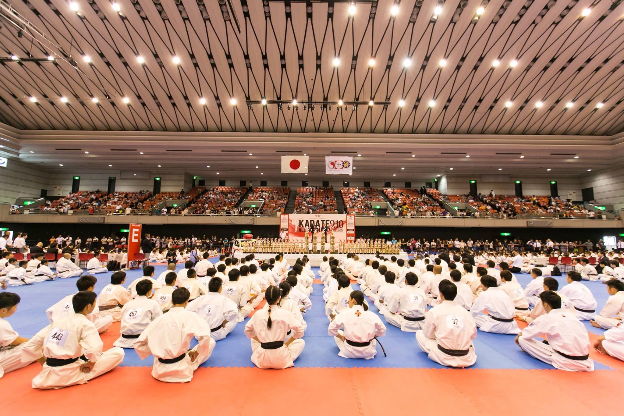 KARATE ALL JAPAN2018詳細はここをチェック!|7/31(水)深夜0時まで