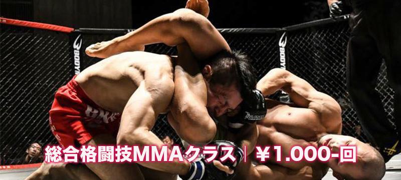 総合格闘技MMAクラス